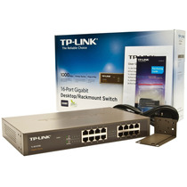 Switch 16 Portas Gigabit Tplink Tl-sg1016d 10/100/1000