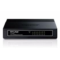 Hub Switch Tp-link Tl-sf 1016d 16 Portas 10/100mbps + Nfe