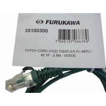 Pach Cord Furukawa Fisaflex Rj45 2.5m