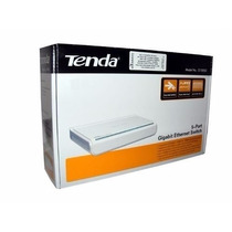 Switch 5 Portas 10/100mbps, Plug And Play Tenda S105 Box Nf