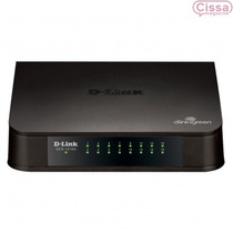 Switch D-link Des-1016a 16 Portas 10/100mbps 12x Sem Juros