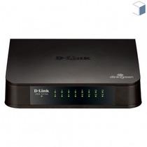 Switch D-link 16 Portas Fast-ethernet Des-1016a Com Garantia