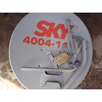 Pacote 05 Kit Ku Antena 60 Cm Completa