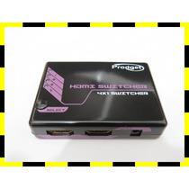 Switch Hdmi 3d 5 Portas Controle Remoto Hdtv Ps3 , Xbox360