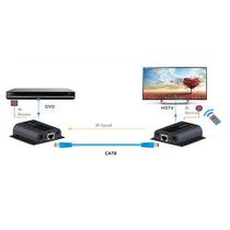 Extensor De Controle Remoto Hdmi 1080p Full Hd Cabo Cat6 50m