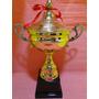 Trofeu Metal 40 Cm Taça Campeonato Natação Volei Titulo