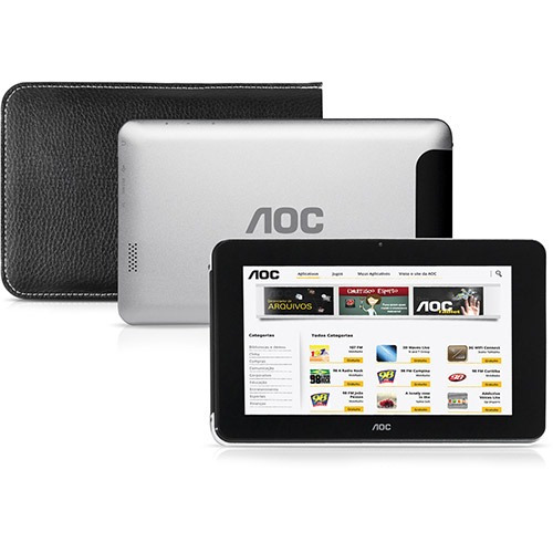 Tablet Aoc Memória Interna 8gb