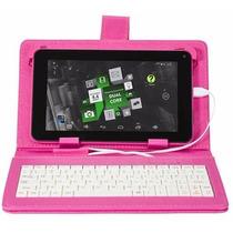 Tablet Dl Office Tab Rosa C/ Capa Protetora Rosa Android 4.4