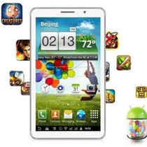 Tablet 7 Android 4 Celular 2 Chip Tv Digital 1.2ghz Wifi 3g