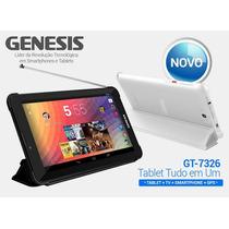 Tablet Genesis Gt 7326 1.3 Ghz Android 4.2.2 Tv Gps Celul...