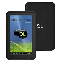"""Tablet Dl Blue Hd 7"""" Bluetooth Hdmi Suporte À 3g Android4.1"""