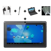 Tablet 7 4.0 Capacitivo Wi-fi 3g Camera Teclado Fone Caneta