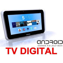 Tablet Genesis Gt-7310 C/ Tv Hd Dual Core 3g Android 4.2 8g