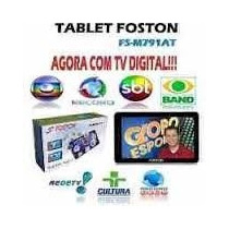 Tablet Foston Com Tv Digital Tela De 7 A Pronta Entrega
