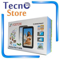 Tablet Foston 796 Dual Core 3g Dual Chip Tv Analógica Gps