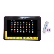 Tablet Foston Fs-787hd 3d 7 Android 3g 4gb + Modem P Chip 3g