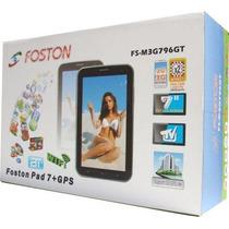 Kit-10pecas Tablet Foston 796 Dual Core 3g 2-dois Chip Tv