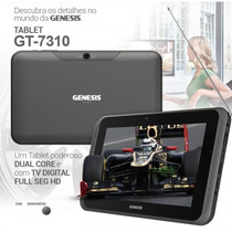 Tablet Genesis Gt-7310 Android 4.2 Dual Core 1.0 Ghz 3g Tv