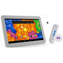 Tablet Dual Core 1.4 Gz Android 4.2+4gb+ Modem 3g* Ztc Branc