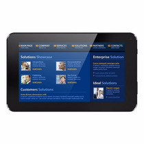 Tablet Ztc Dual Core 1.4 Gh Android 4,2 ,4gb Aceita 3g Preto