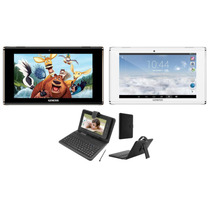 Tablet Genesis Gt 7304 Android 4.4 8gb Hdmi 3g + Teclado