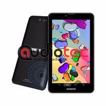 Tablet Genesis Gt-7326 Celular/ Tv/ Gps/ 3g/wifi/capa Grátis