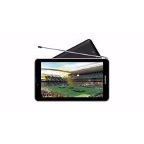 Tablet Genesis Gt-7326 Celular 2 Chips Tv Gps 3g Wifi + Capa