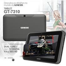 Tablet Da Genesis Gt-7310 Com Tv Digital Full Seg Dual Core
