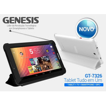 Tablet Genesis Gt 7326 1.3 Ghz Android 4.2.2 Tv Gps Celul...