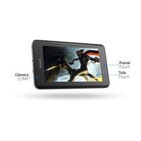 Tablet Genesis Gt 7105 3g Hdmi Android Wifi Preto