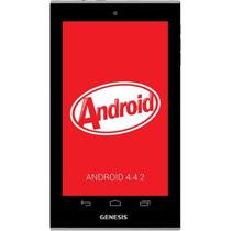 Tablet Genesis 7402 Quadcore Dual Camera Kitkat Gpu Samsung