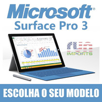 Microsoft Surface Pro 3 64/128/256/512gb Intel I3/i5/i7