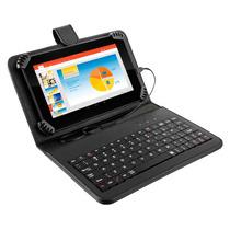 Tablet M7s Quad Core + Tecladomultilaser Nb196 Mania Virtual