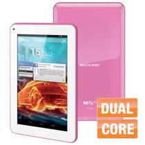 Tablet Dual Core Multilaser Android 4.2 7 Polegadas