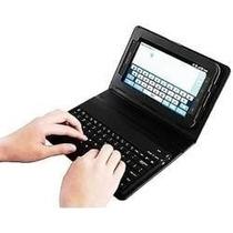 Capa Couro Teclado Bluetooth Tab4 7 T230 T231