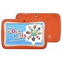 Tablet Dl E-duk Kids 4gb Tela 7 Wi-fi Suporta Modem 3g