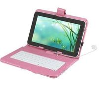 Tablet Wifi Capacitiva Capa Teclado Android Semelhant Ipad