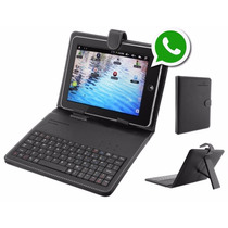Tablet 3g Interno Dual Chip Gps Bluetooth + Capa C/ Teclado