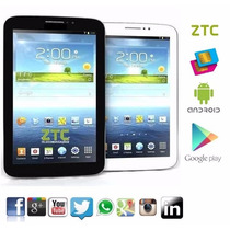 Tablet Celular Ztc Dual-core Gpu Samsung 2 Chips Gps E Tv