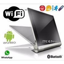 Tablet Ztc Quad-core + Celular 2 Chips - 4gb + Frete Grátis