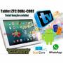 Tablet Função Celular 2 Chips 3g Tv Gps Dual Core / Rosa