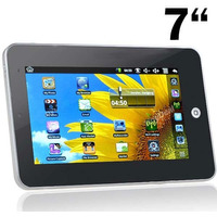 Tablet 7 Android 2.2 Touch Wifi Câmera 3g, Processador 1ghz