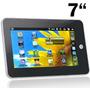 Tablet 7 Android 2.2 Touch Wifi Câmera 3g, Processador 1ghz