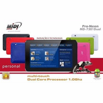 Tablet Midi Pro-neon Md-7301dual Cortex A9 Android 4.1 Branc