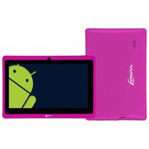 Tablet Tb 50 Lenoxx Rosa Preto Branco Android 4.0 Wi-fi