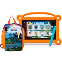 Tablet Positivo T710 Kids Cbu - Pcrk752 + Mochila 2mp Preto