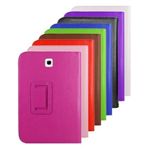 Capa Case Livro Couro Tablet Galaxy Tab3 Lite T110 E T111