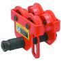 Trole Manual 1000kg - Regulagem De 64 A 203mm - Rolamentada