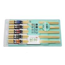 Palitos Hashi De Bambu Peixe Pct 10 Pares Culinária Japonesa