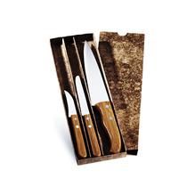 Jogo Facas Em Bambu Special Line 3 Pçs Welf